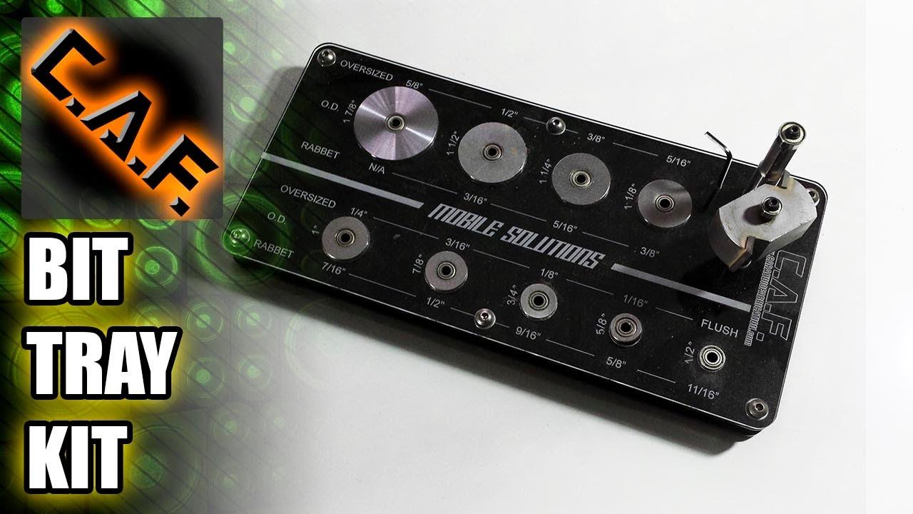 Router Bit Bearings Kit Router Bit Tray Kit
