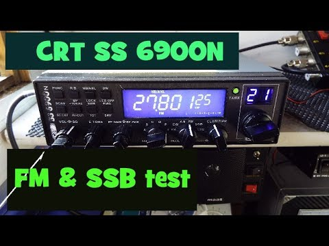 Superstar CRT SS 6900N on FM & SSB.  UK CB RADIO