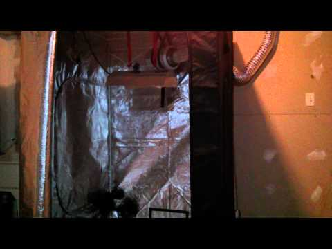 4x4 Grow 4x4 Grow Tent Set up Simple
