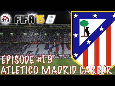 ATLÉTICO MADRID CAREER #19 - MADRID DERBY!   FIFA 15 CAREER MODE