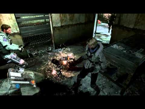 Co-op: Resident Evil 6 No Hope With Sectus Jake Chapter 1 (Part 2)