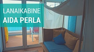 AIDAperla: Junior Suite mit Lounge (Lanai Kabine)