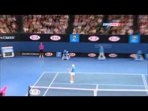 セレナ(セリーナ) ウィリアムズ v Justine エナン, 全豪オープン 2010 決勝戦(ファイナル)  - Part 9
