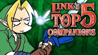 Link's Top 5 Companions in The Legend of Zelda!
