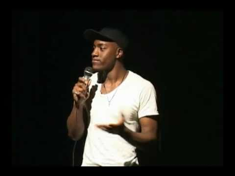 Openly Gay Stand Up Comedian Sampson, performing his show