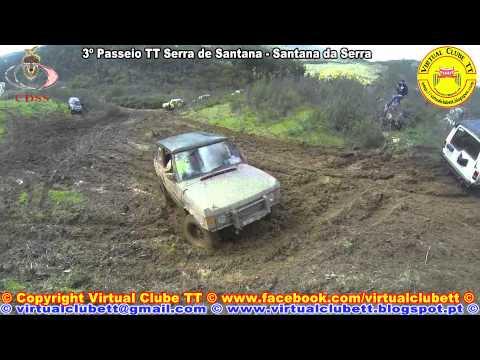 Virtual Clube TT no 3� Passeio TT Serra de Santana (Santana da Serra) HD