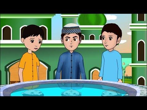 Abdul Bari learning surah Falaq