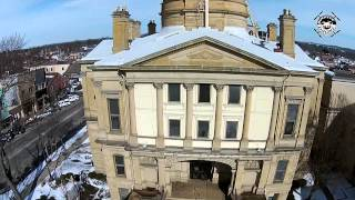 Tuscarawas County Courthouse Flight Feb 7th 2015
