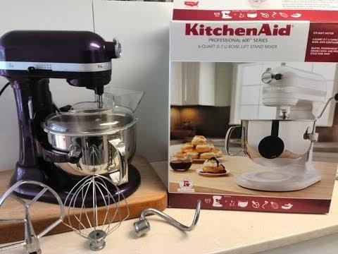 Unboxing KitchenAid Professional 600 Series 6-Quart (5.7L) Bowl Lift Stand Mixer