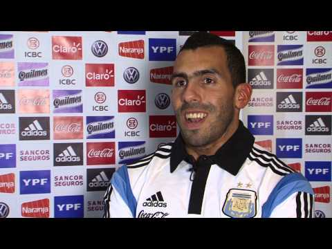 There's only one Carlos Tevez