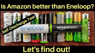 Is Amazon better than Eneloop's AA Rechargeable NiMH Battery? Let's find out!