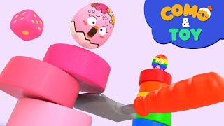 Como | Toc Toc Woodman 2 | Learn colors and words | Cartoon video for kids | Como Kids TV