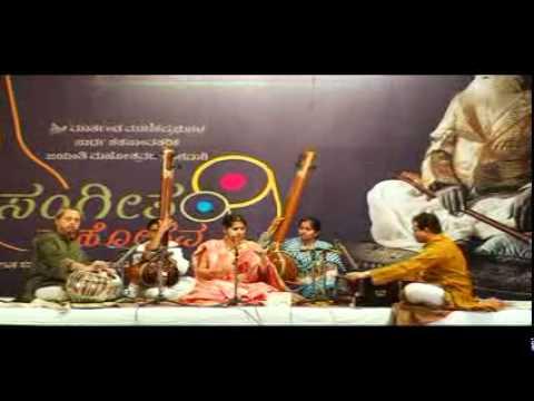 Kaushiki Chakraborty at Maniknagar - Raag Rageshri - Part 1...