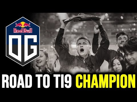 ROAD TO TI9 Champion - Team OG the Record Breaker Dota 2