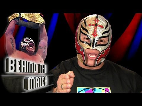 Rey Mysterio  becomes World Champion - Behind The Match