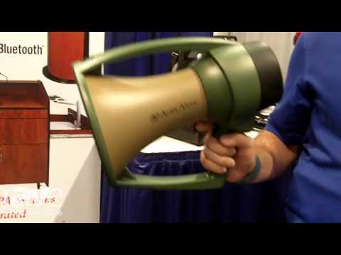InfoComm 2016: AmpliVox Intros WP609R Waterproof Megaphone