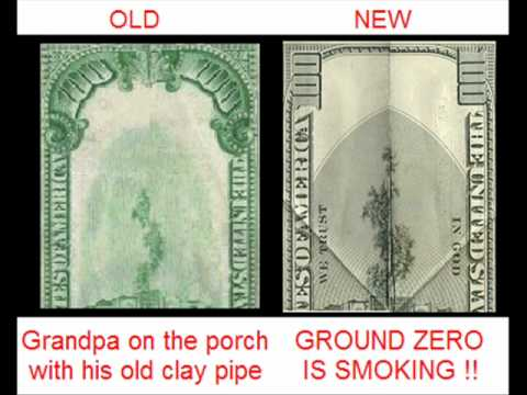PsyOps:  New Series US Dollar Bills Tell 9/11 Plan