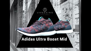 Adidas Ultra Boost Mid 'Multicolour/Black' | UNBOXING & ON FEET | fashion shoes | 2018