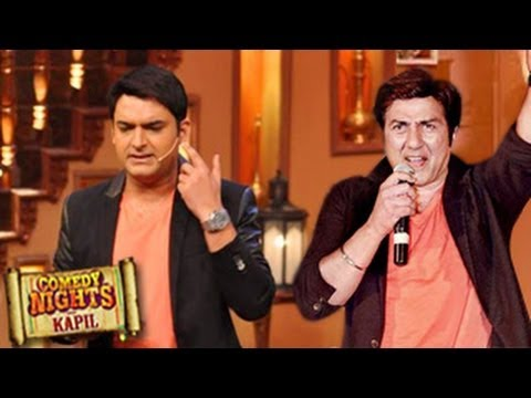 Comedy Nights With Kapil SUNNY DEOL SPECIAL In Comedy Nights 3rd November 2013 FULL EPISODE