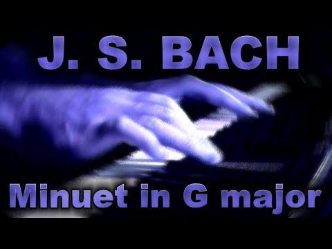 Бах Иоганн Себастьян - Bwv Anh 114 Minuet In G