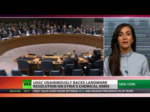 United Response: Security Council votes 15-0 for Syria chem weapons resolution