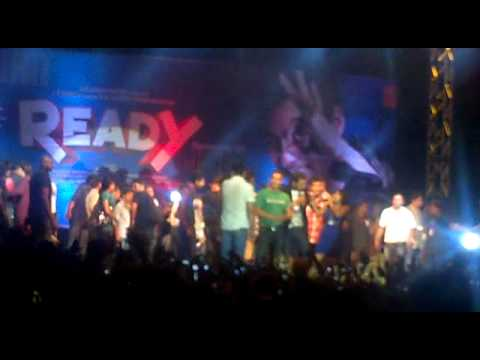 Salman Khan live in concert at Ahmedabad Gujarat to promote...