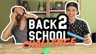 BACK TO SCHOOL CHALLENGE!