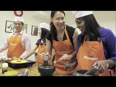 Singapore Tourism Board cooking challenge @ Food Playground
