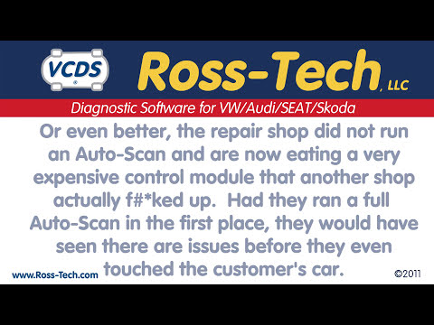 How to use the Auto-Scan function in VCDS
