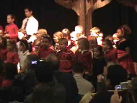 Eagle Creek Academy Christmas Concert, 12-09-2009.wmv