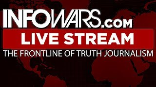 📢 Alex Jones Infowars Stream With Today's Commercial Free Shows • Monday 9/18/17