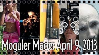 Cheap Mic vs Pro Mic Showdown, Fake Pocket Dialing, and More! : Moguler Made: April 9, 2013
