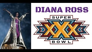 Diana Ross - Half Time Show At Super Bowl XXX 1996