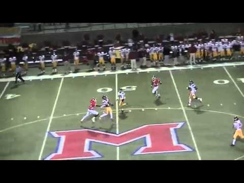 Christopher Murphy #17, C/O 2014 CB - Varsity Highlights (Junior 2012) - Lassiter High School