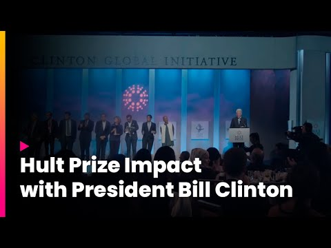 Hult Prize Impact with President Bill Clinton