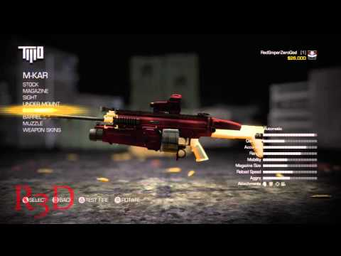 Army of Two: Devil's Cartel Weapon Customization