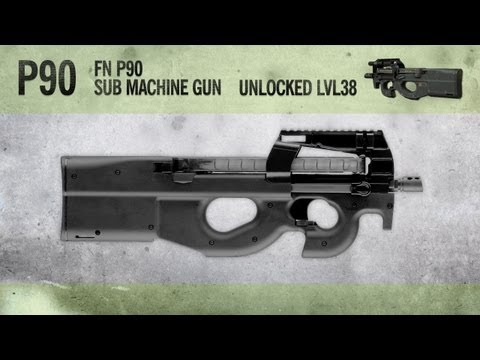 P90 : MW3 Weapon Guide, Gameplay & Gun Review