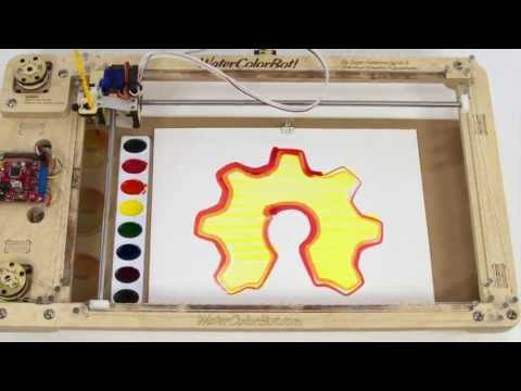 The WaterColorBot -- Kickstarter Launch Video