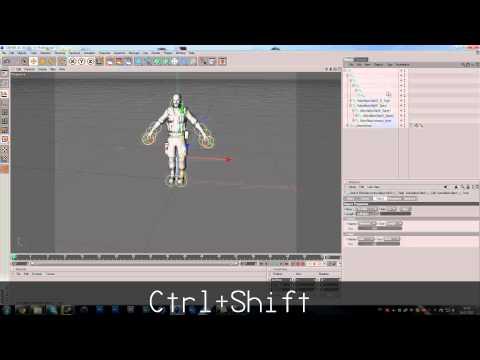 QuickTip #1 – Eazy Animating with IK Chain in C4D