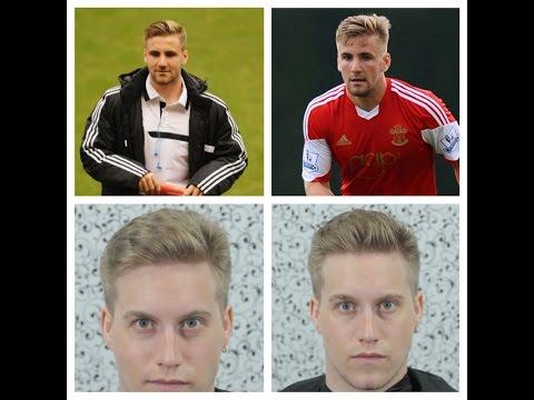 Luke Shaw Haircut Tutorial