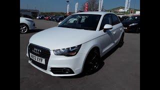 2013 Audi A1 Sportback 1.6 TDi Sport 5dr - MX13XYF In White