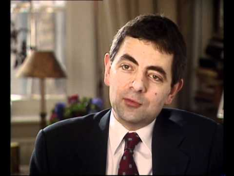 Rowan Atkinson talks about Mr Bean 1/4 Music Videos