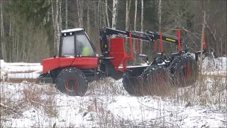 MTZ in forest - 5