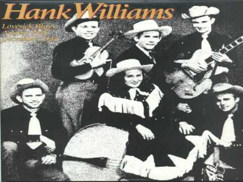 Hank Williams - Moanin The Blues