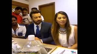 Shakib Khan Facebook Live 1st Time | Funny Moment 2016| Shakib Khan and Bubli