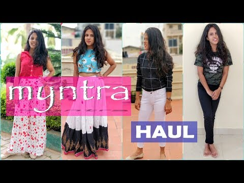 Myntra Shopping Try on haul 2018 | Myntra EORS sale 2018 | Runa's Diary