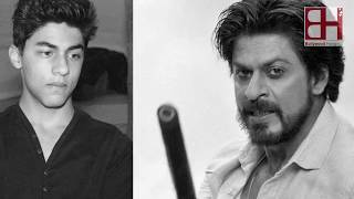 OMG! SRK wants to rip off son Aryan's lips!