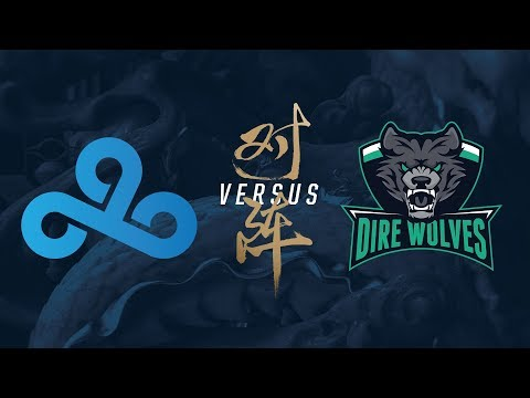 C9 vs. DW   Play-In Day 2   2017 World Championship   Cloud9 vs. Dire Wolves