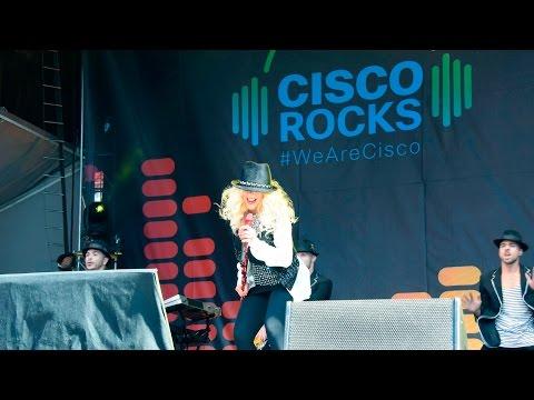 Christina Aguilera Live at Cisco Rocks