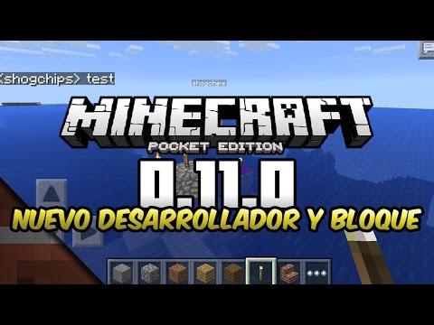 Noticias Minecraft PE 0.11 Nuevo desarrollador y ¿nether Shoghi Cervantes